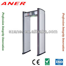 Outdoor waterproof walk through metal detector K408,walkthrough security doors metal detector doors,airport metal detectors