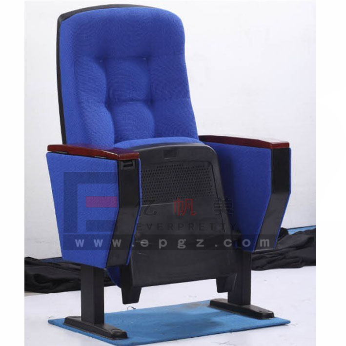 Hot Sale Theatre Seats with Wooden Tablet Attached, Cinema Chair/Auditorium Chair