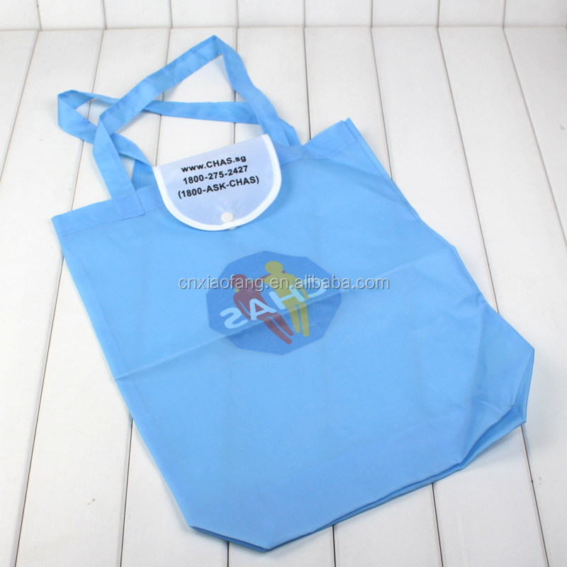 Best sale wholesale cheap customized non woven folding bag into pouch tote bag