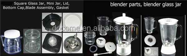 "kitchen aid appliance part blender jar, ""BLENDERGLAS"" brand"