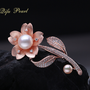 The Latest Pearl Brooch Designs in 925 Sterling Silver with Excellent Quality