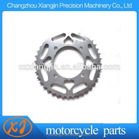 Fit to 420 428 520 chain 43 tooth motorcycle sprocket with your logo lasered