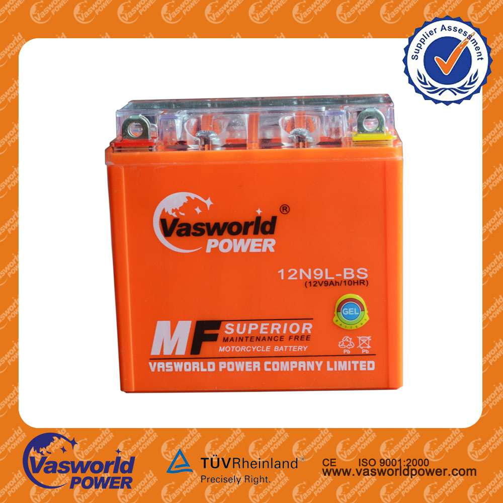 wholesale price pattented YTX16 12v 16ah mf motorcycle battery