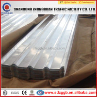 competitive price color coated corrugated sheet metal roofing