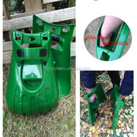 Plastic NEW Hand Lawn Leaf Scoops