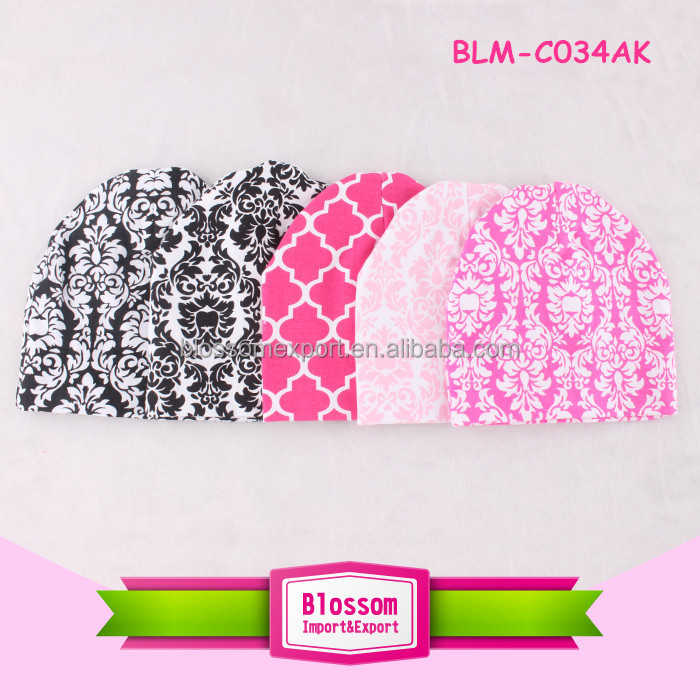 Wholesales high quality nylon soft qulity many colors strech waffle girls hats