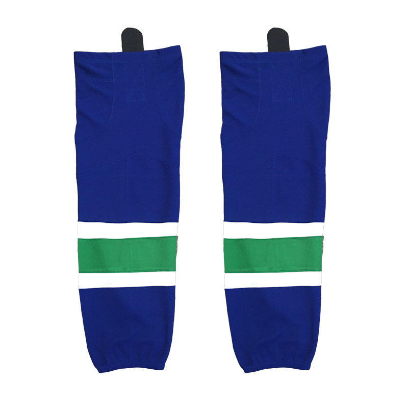 Hot mesh fabric vancouver <strong>W007</strong> ice hockey socks for game