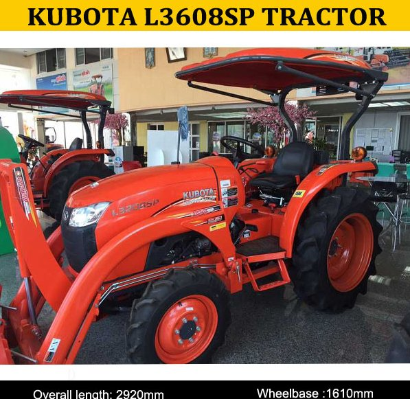 hot sale of L3608SP 30HP kubota small tractors