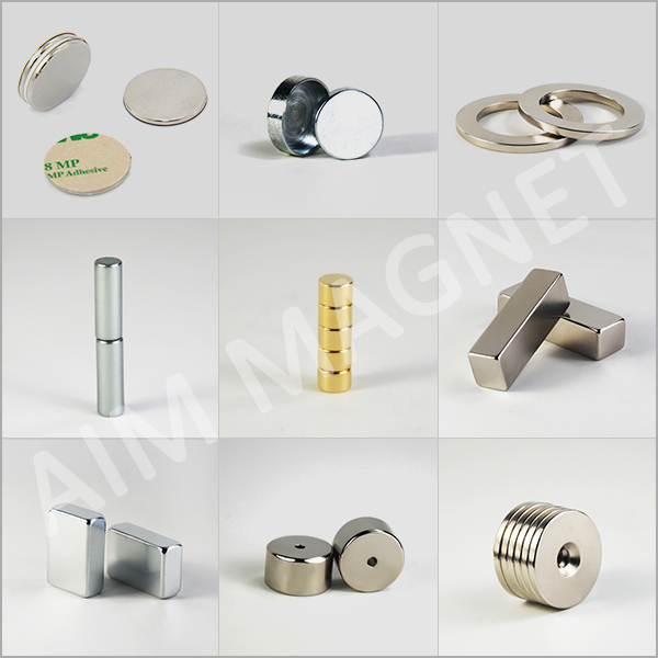 High Quality Strong Neodymium 3M backed magnet / 3M Adhensive Magnet