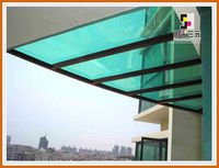 good quality pc plastic window awning ;pc plastic sheet materials factory;san yuan polycarbonate sheet