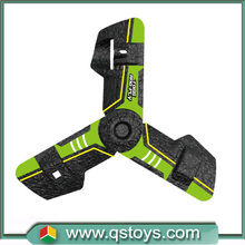2016 small fast selling christmas sales 2.4ghz boomerang toys remote control quadcopter rc triangle ufo