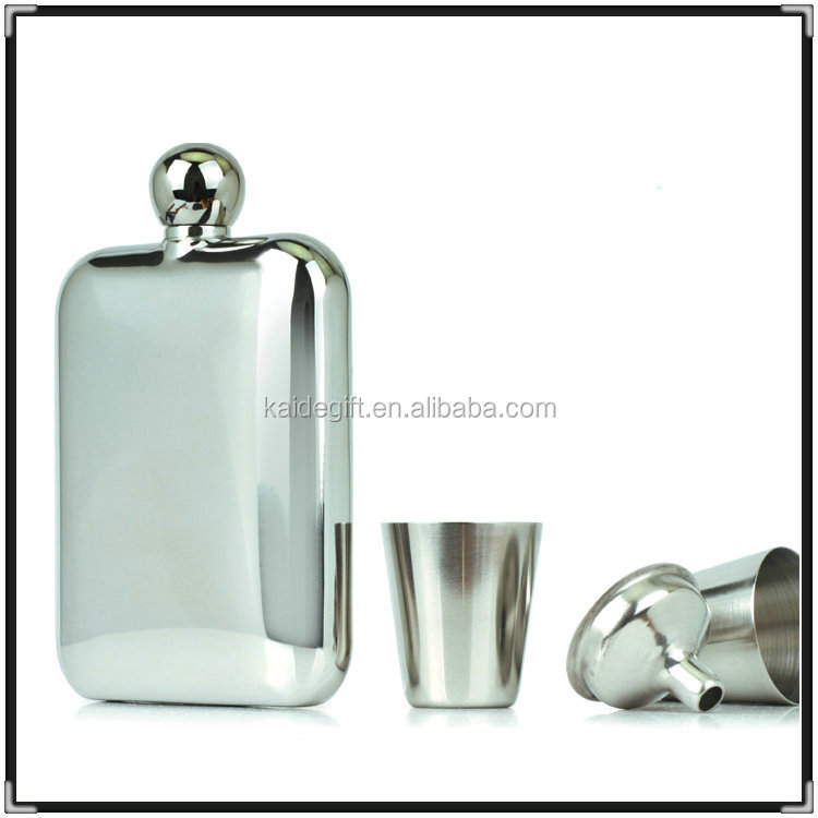 Factory Price High Quality liquor purple hip flask for women