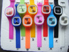 10 Colors Square Face Jelly Watch Soft Silicone Band Wrsit Jelly Watch