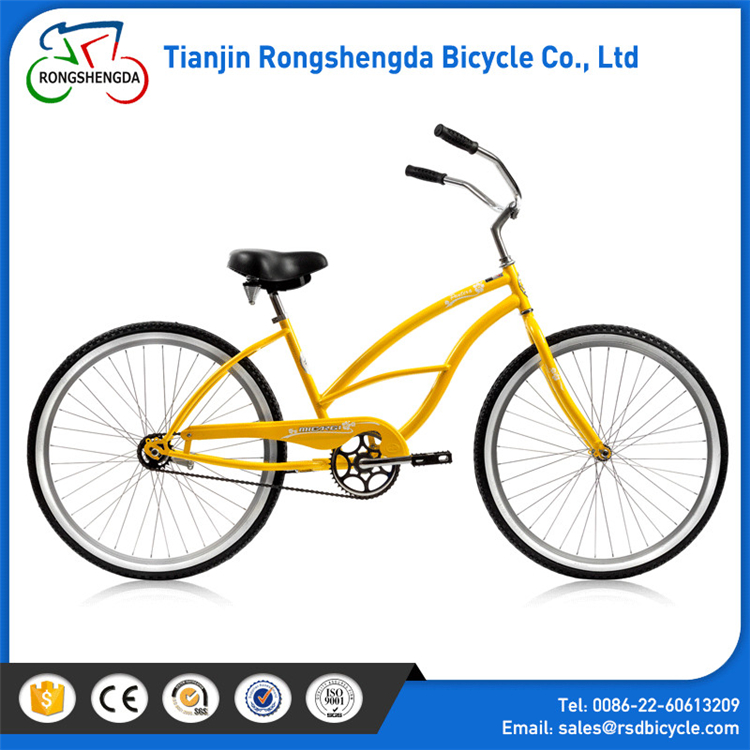 2017 yellow beach cruiser bikes /good quality 28 beach cruiser bikes / chopper bicycle beach cruiser bikes