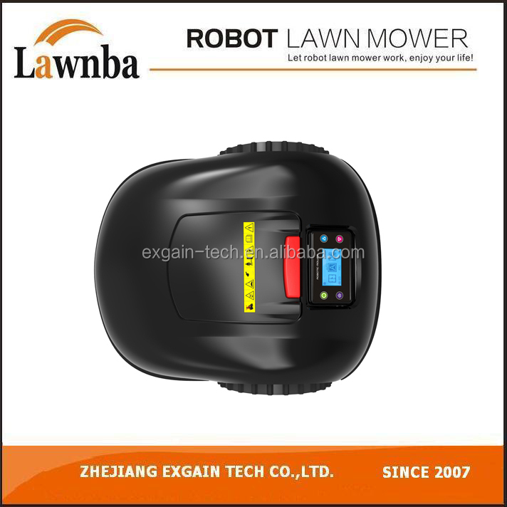 Automatic LCD display rechargeable supoman robot lawn mower E1600