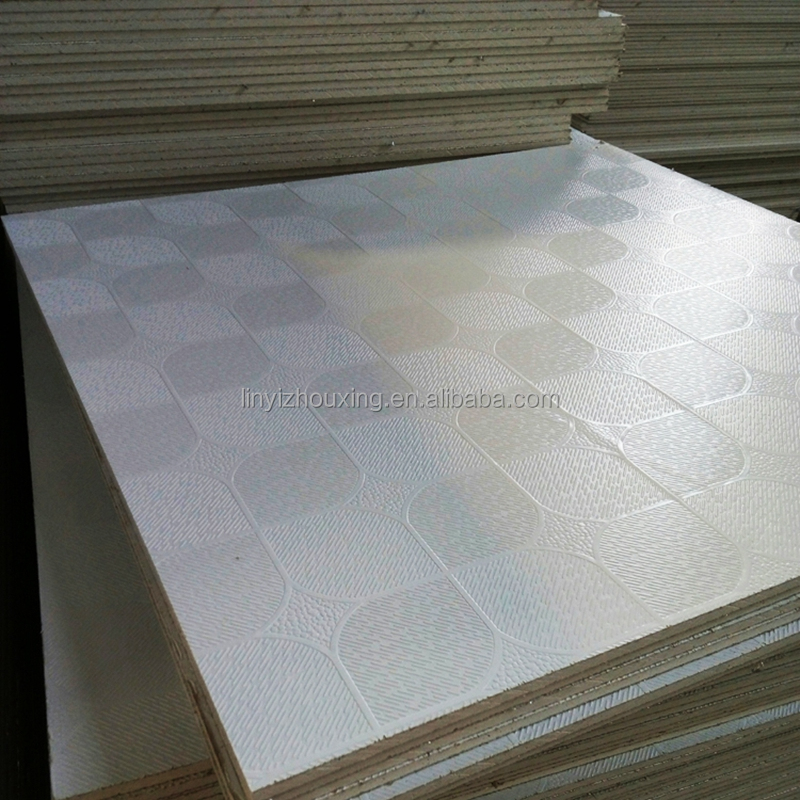 603*603 mm pvc laminated gypsum ceiling tiles
