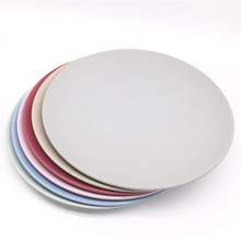 Eco friendly Organic Party <strong>Plate</strong> Round Bamboo <strong>Plate</strong>
