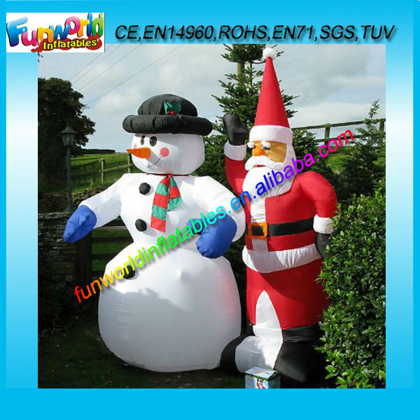 Sales Promotion PVC Inflatable Christmas Product for Advertising (FUNCP1-052)