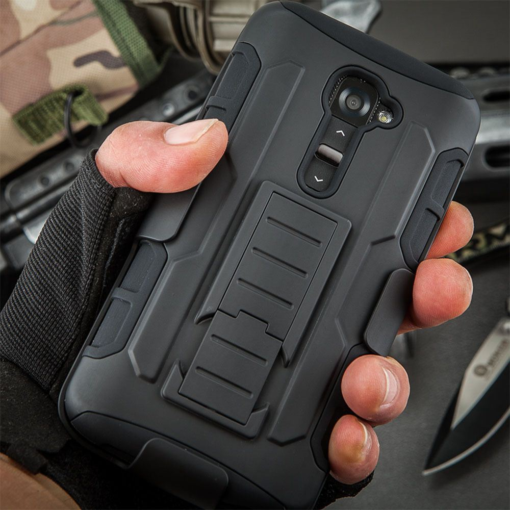 For LG G2 D802 D805 D801 D800 D803 LS980 Future Armor Impact Holster Shockproof Hard Case for LG Optimus G2 Back Cover + Gift