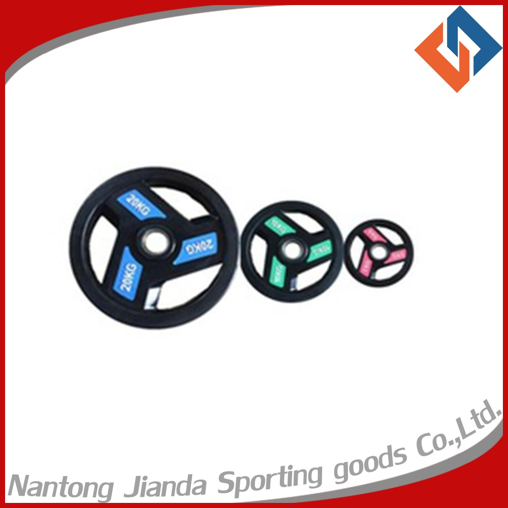 Weight Lifting Rubber Barbell Plate