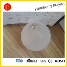 blown glass lamp chimney /glass milk color glass shade cover