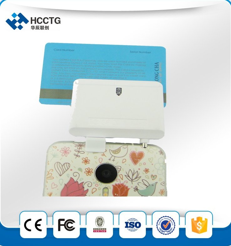 Mobile data collector chip credit card reader writer+MSR card reader for Android and IOS phone --ACR32