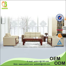 China comfortable imported leather sofa