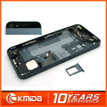Replacement Part Mobile Phone Repair Back Cover Assembly For iPhone 5 Full Housing