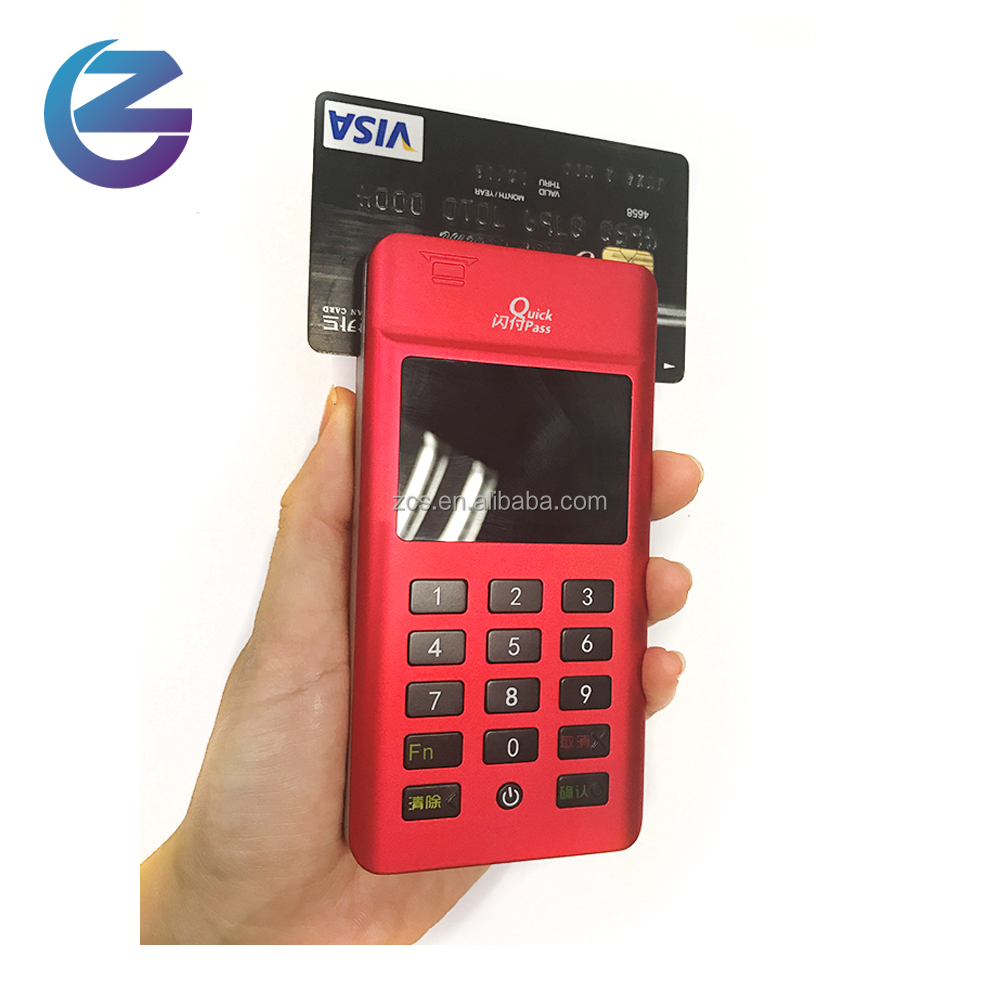 mini wireless handheld pos terminal with nfc reader and pinpad for android and ios