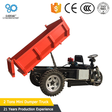 china cars in pakistan 72v tricycle electric new dump truck / electric 2 tons mini dumper truck