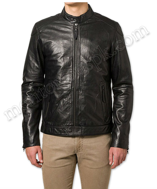 Sheep Leather Men Jackets