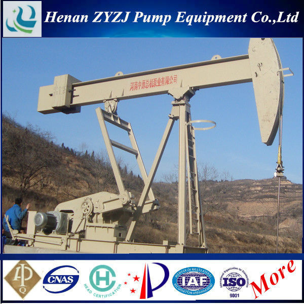 API 11E Conventional SYJ Walking Beam Pumping Unit For Oilfield