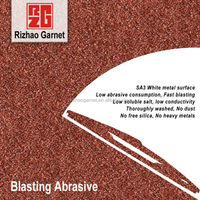 stainless steel surface abrasive cleaning 30/60 mesh garnet