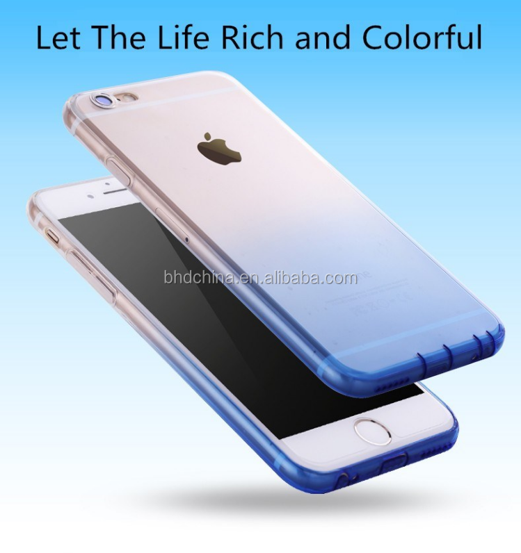 color changing phone case Ultra Thin cover for iphone 7 case for iphone 6 case