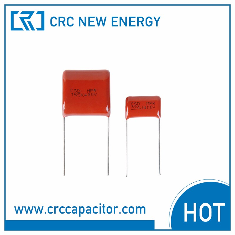1uf 400v capacitor cl21 polyester film