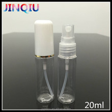 Best selling 20ml empty refillable perfume spray design plastic bottles
