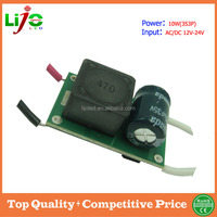 Sample free 10w(10S3P) 900ma led driver for led light power supply