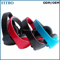 Genuine FM TF wireless cheap stereo headset bluetooth for Ipad mini 4
