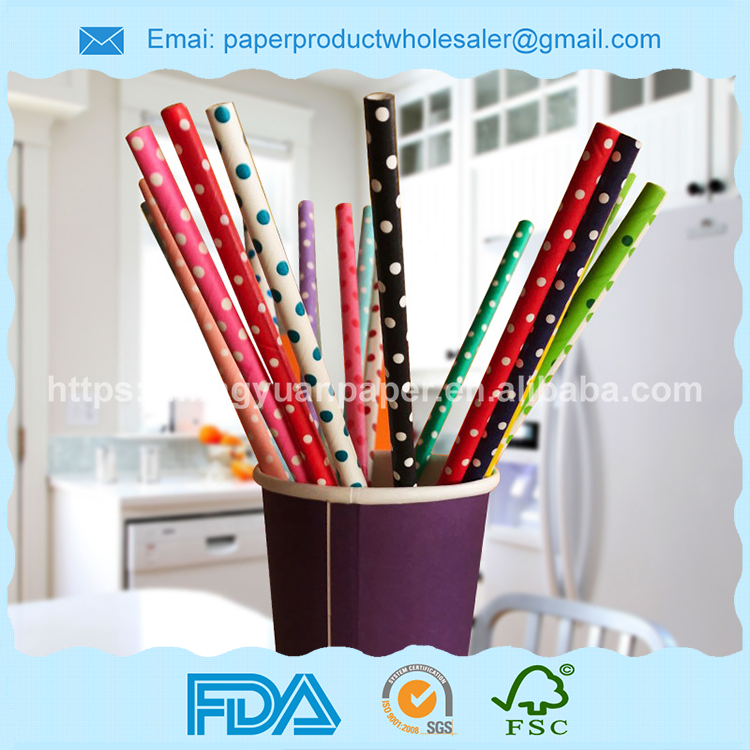 Party Decoration supplies type drinking paper straws