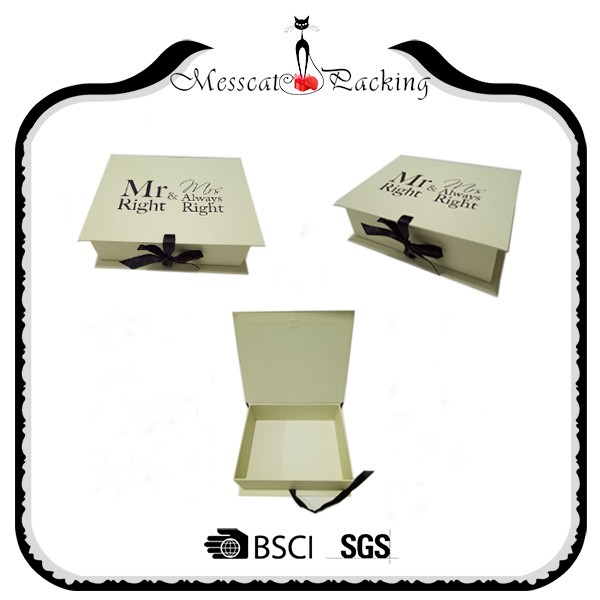 Elaborate custom magnetic closure color skirt packaging box for gift
