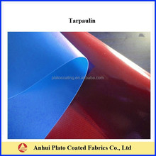 waterproof PVC Coated100%polyester Fabric Stocklot tarpaulin