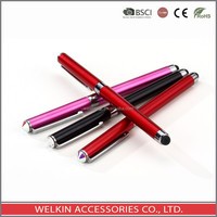 Top crystal touch screen ball point pen
