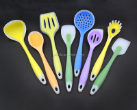 High quality 8pcs silicone kitchen tool,silicone kitchen utensils