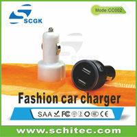 Low price stable quality universal car chargers for laptop and mobile FCC ROHS