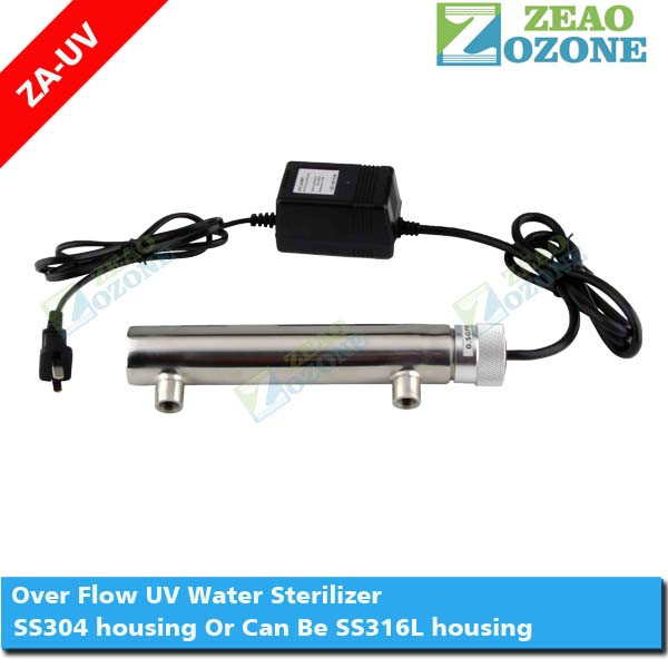 sterilisation of air ,water and surfaces with uv light