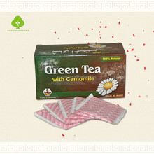 China camomile tea bag good quality healthy tea