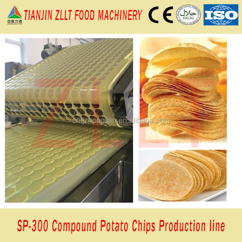 Innovative machines for potato chips processing