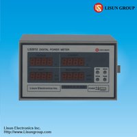 LS2012 digital power meter measur vrms lrms w pf hz and ac dc ac dc