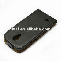 Genuine Leather Case for Samsung Galaxy S4 mini i9190 mobile phone case cellphone case