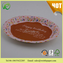 Event and party supplies paper cup/Custom printed disposable dinner paper plates